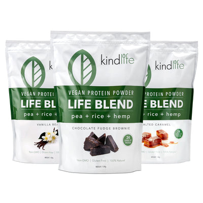 Life Blend Vegan Protein Triple Pack - Choose any 3 flavours
