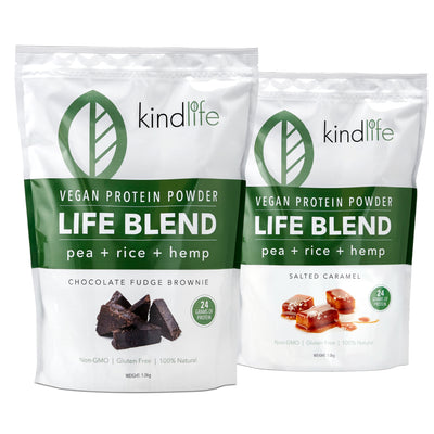 Life Blend Vegan Protein Twin Pack - Choose any 2 flavours