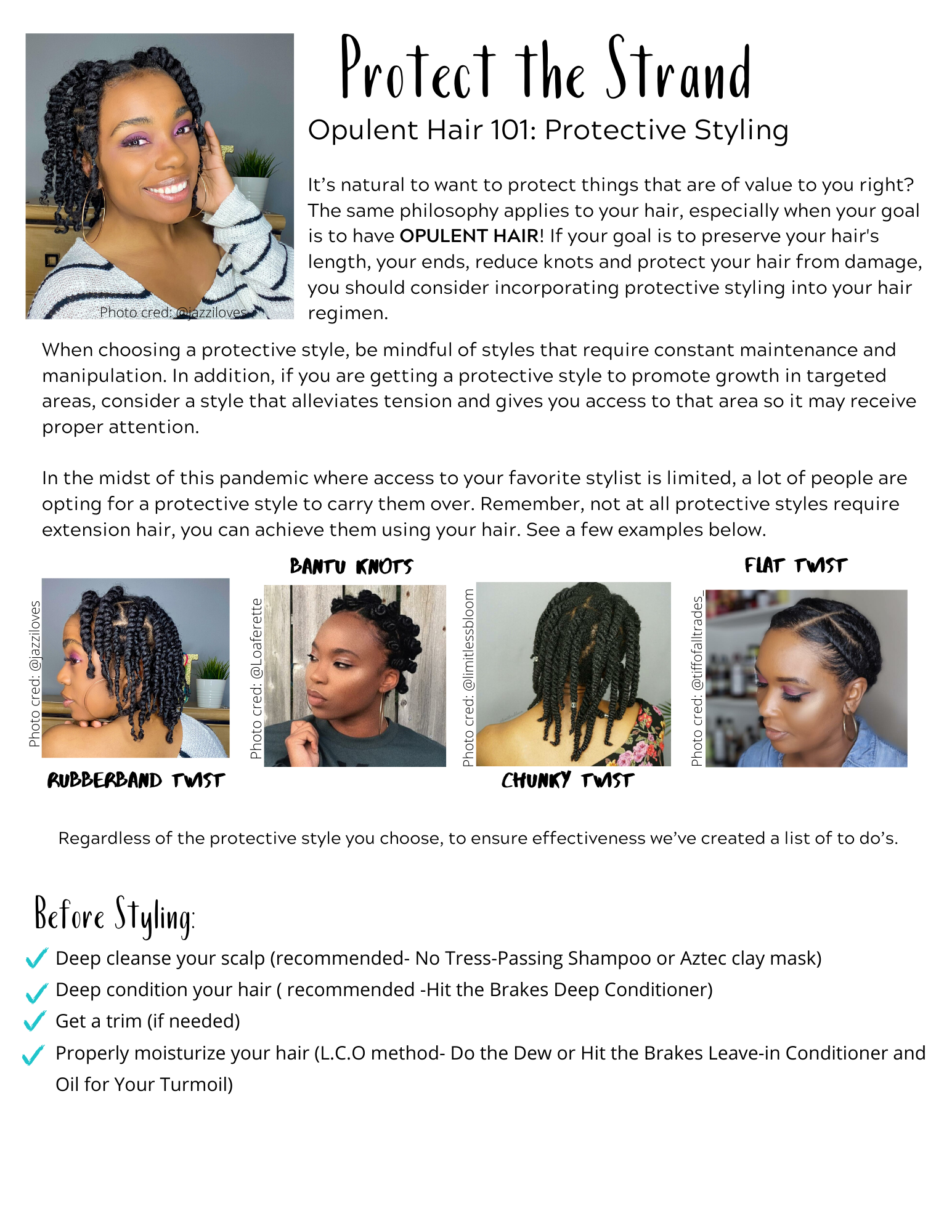 Tips for getting the best out of your protective styles