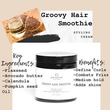 "Load image into Gallery viewer, ""Groovy Hair Smoothie""- Styling Cream"