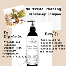 "Load image into Gallery viewer, ""No Tress-Passing""- Cleansing Shampoo"