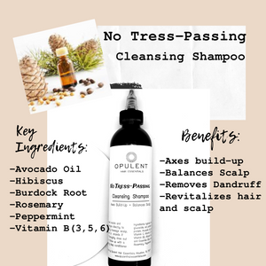 """No Tress-Passing""- Cleansing Shampoo"