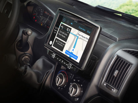 "i902D-DU - Sistema Multimediale a 9"" per Fiat Ducato 3, Citroën Jumper 2 e Peugeot Boxer 2, compatibile con Apple CarPlay e Android Auto"