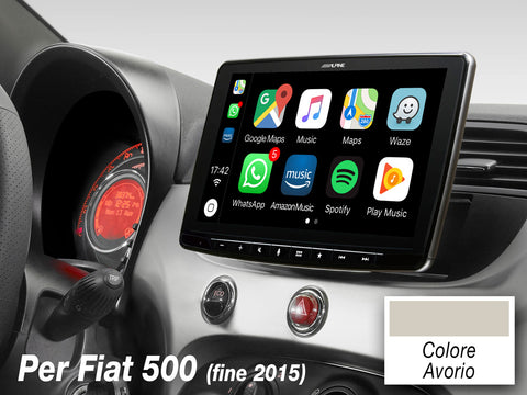 iLX-F903-312-I - Mobile Media System per Fiat 500 (312) Colore Avorio