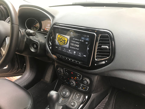 iLX-F903JC - Sistema Audio Video da 9'' Tablet Style dedicato a Jeep Compass dopo il 2017