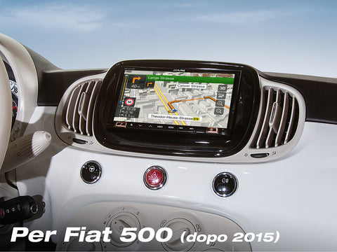 INE-W720-500MCA - Audio Video Navi per Fiat 500 Dopo il 2015