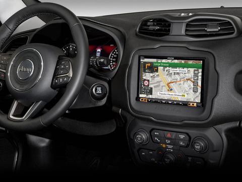 "X803D-RN - Sistema Audio Video Navi da 8"" Dedicato a Jeep Renegade"