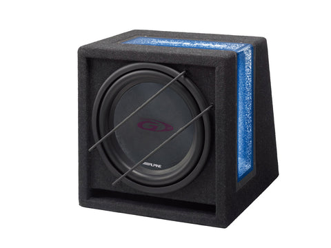 SBG-1224BR - Subwoofer in cassa Reflex pronta all'uso (2 Ohm)