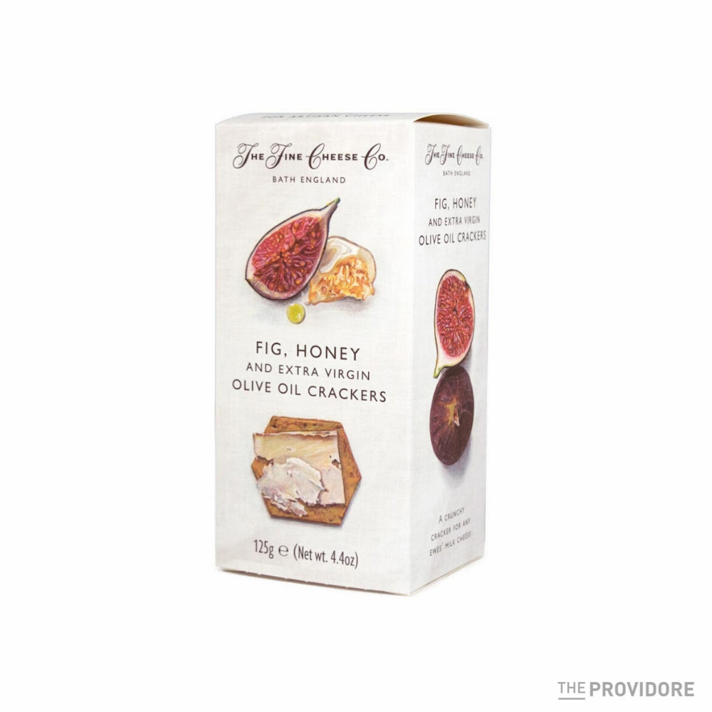 The Fine Cheese Co. Fig, Honey & Extra Virgin Olive Oil Crackers - 125g