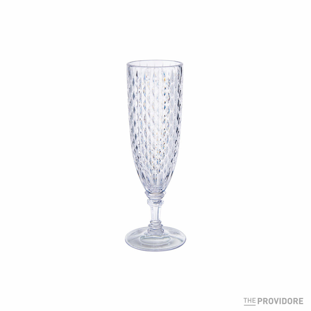 Kinto Rosette Champagne Glass - 160ml