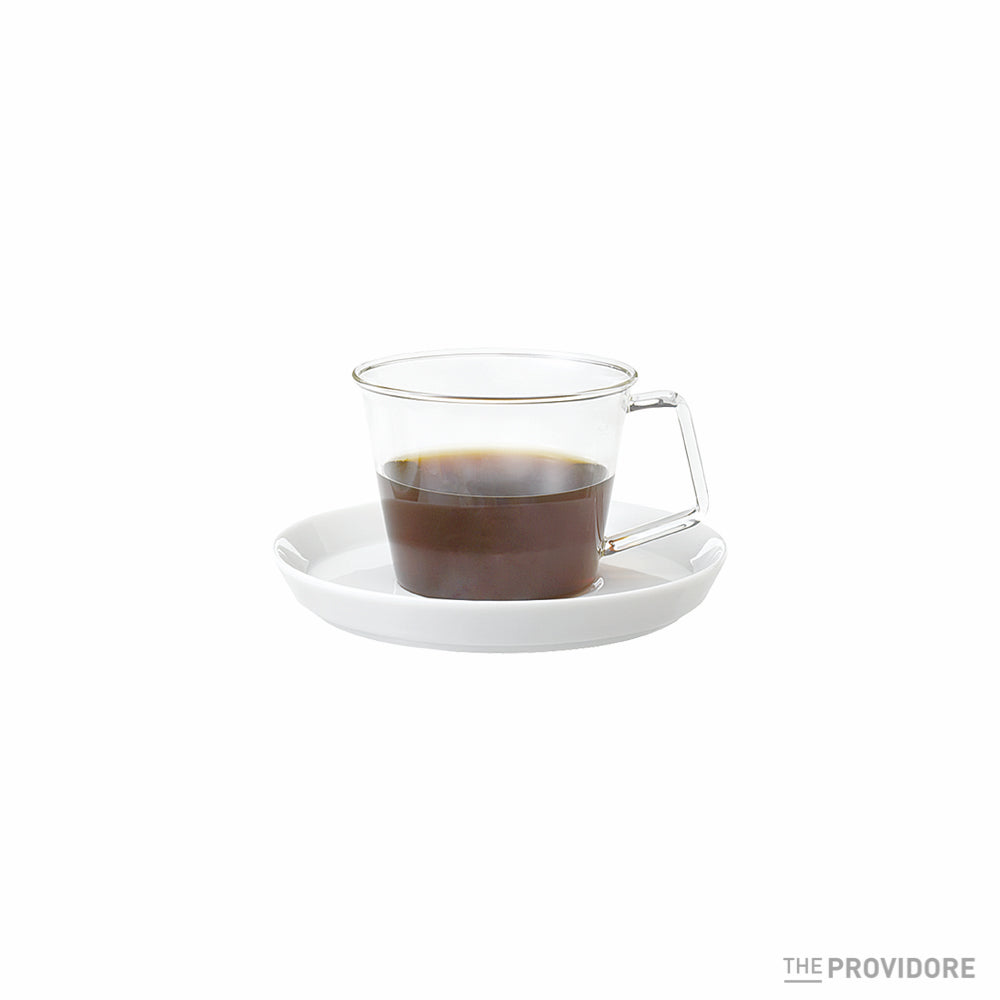 Kinto Cast Coffee Cup and Saucer
