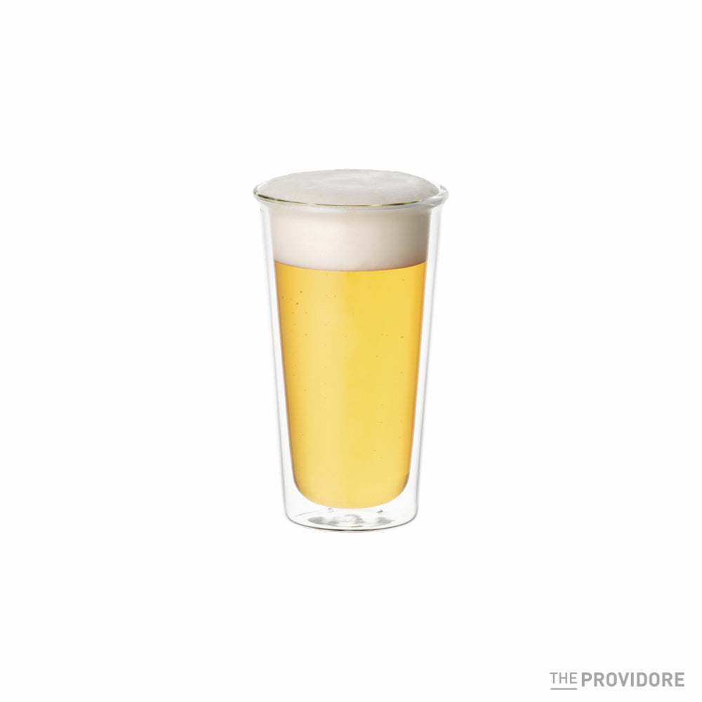 Kinto Cast Double Wall Beer Glass
