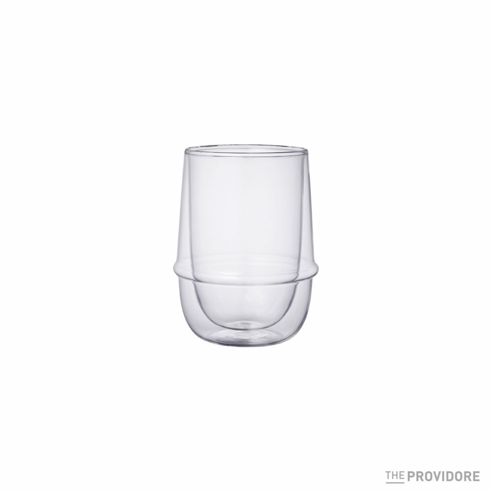 Kinto Kronos Double Wall Iced Tea Glass