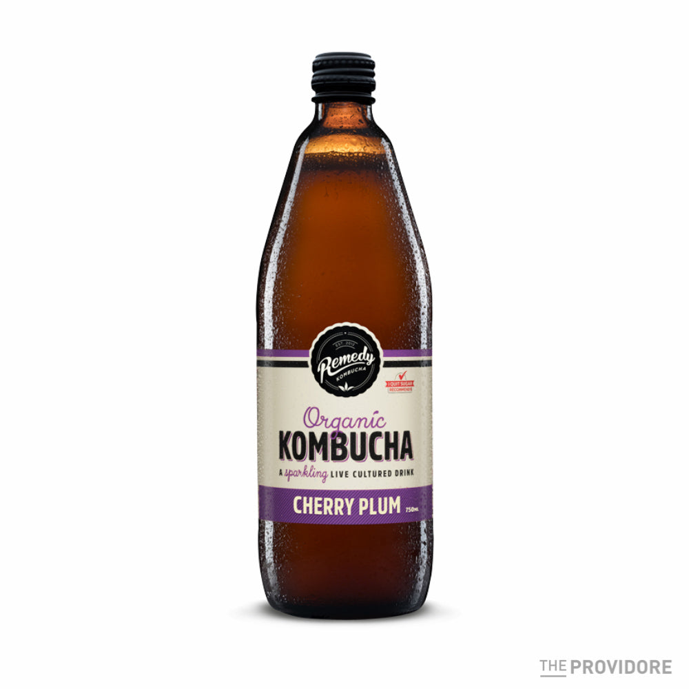 Remedy Organic Kombucha Cherry Plum