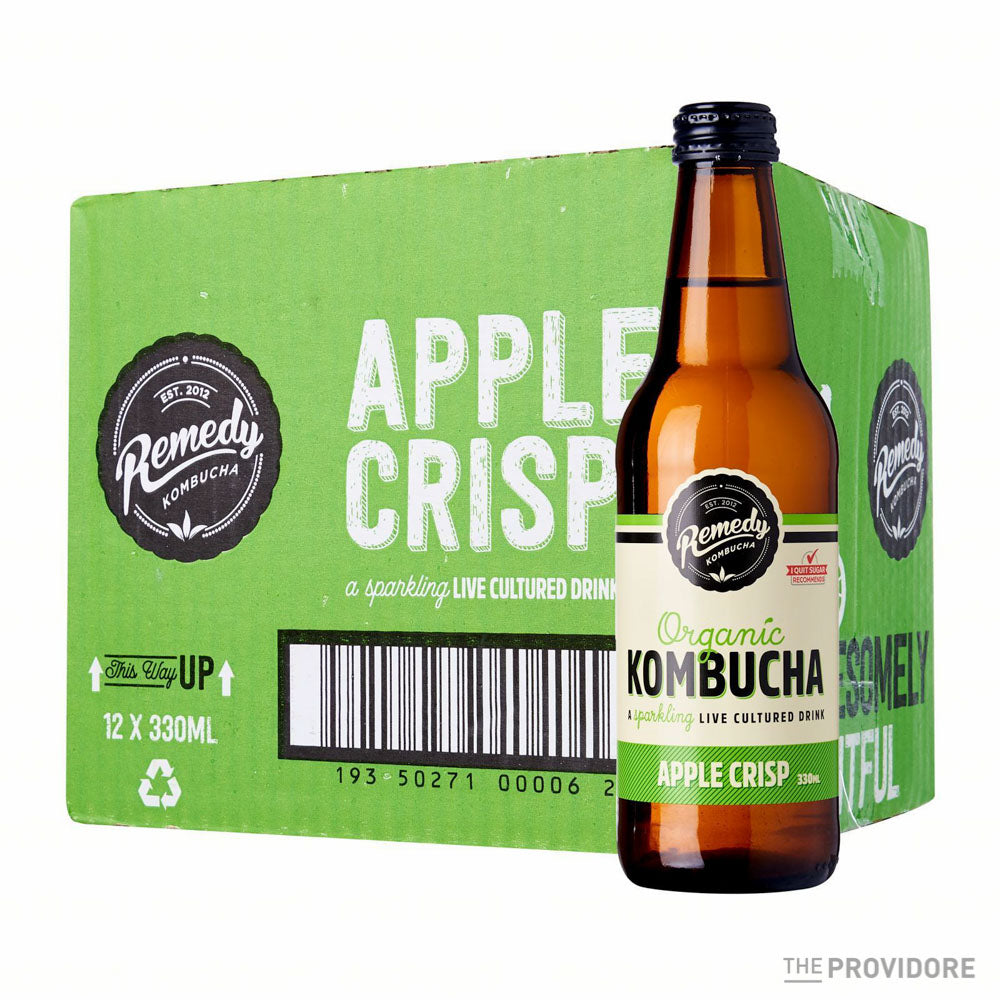 Remedy Organic Kombucha Apple Crisp