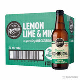 Remedy Organic Kombucha Lemon Lime and Mint