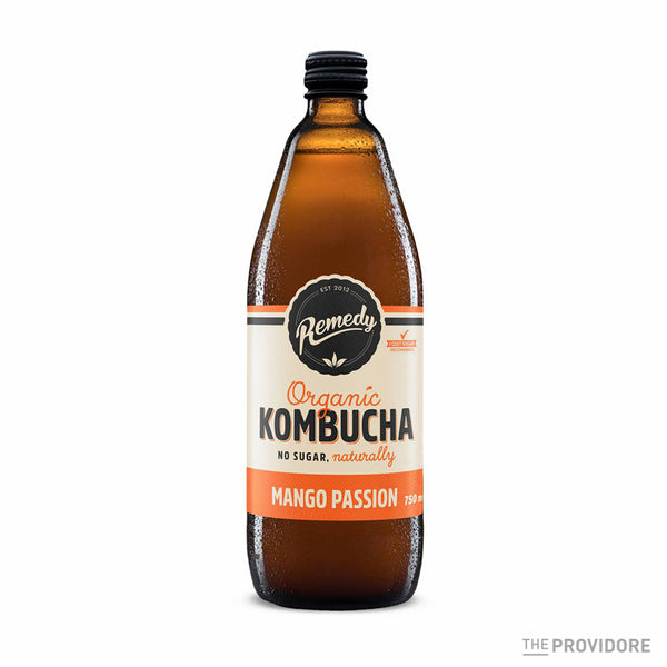 Remedy Organic Kombucha Mango Passion
