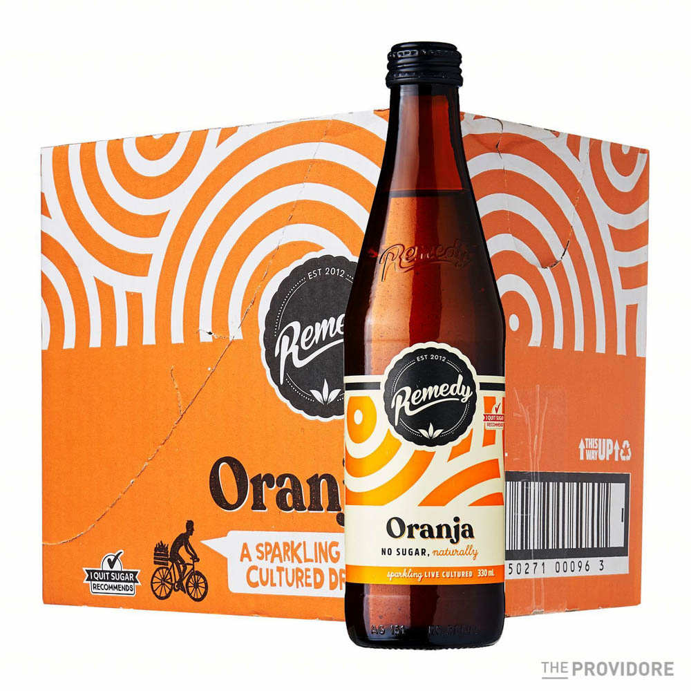 Remedy Soda Oranja