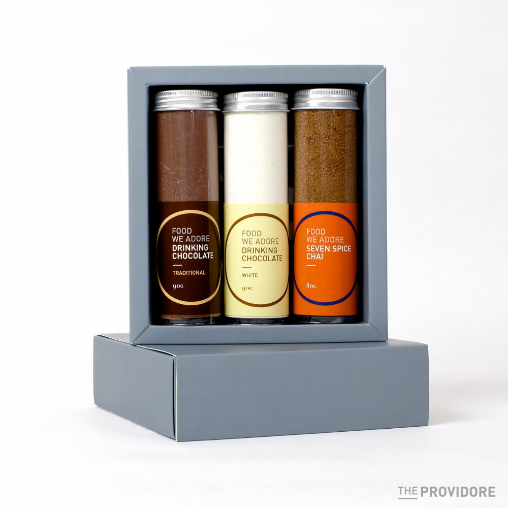 The Providore Drinking Chocolate Tube Set