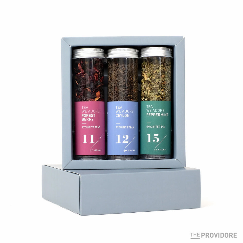 The Providore Tea Tube Set