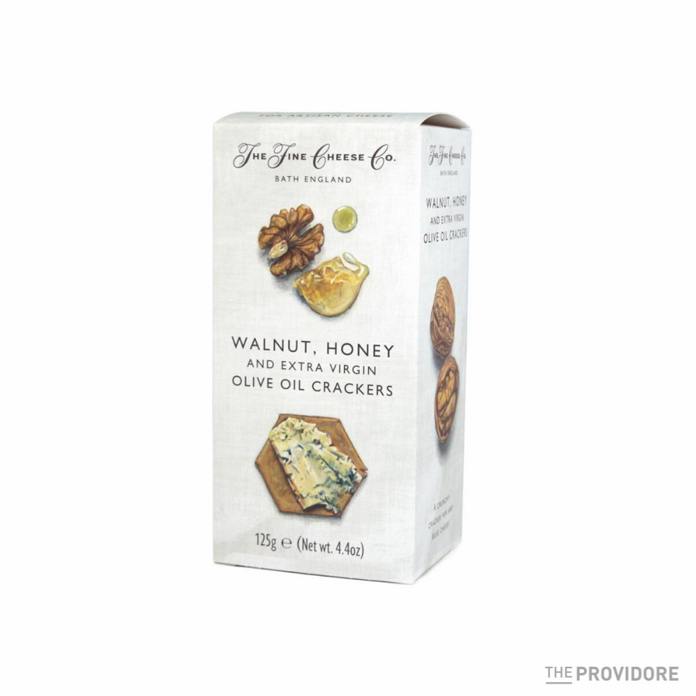 The Fine Cheese Co. Walnut, Honey & Extra Virgin Olive Oil Crackers - 125g
