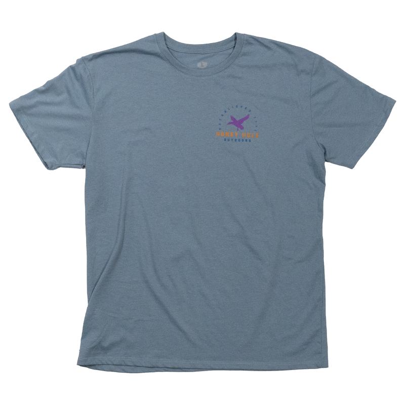 3 Ducks Shirt - Steel Blue