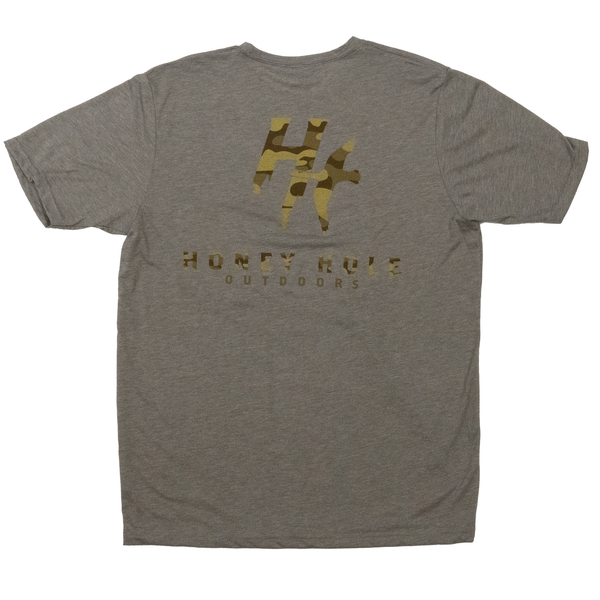 Camo Duck - Warm Grey S/S