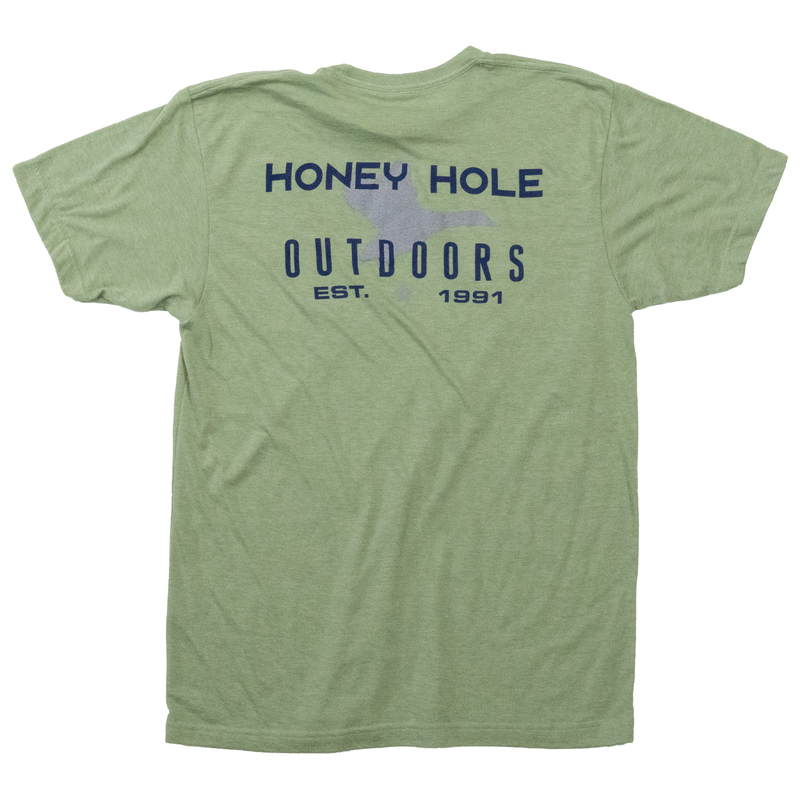 OG Duck Shirt - Heather Green