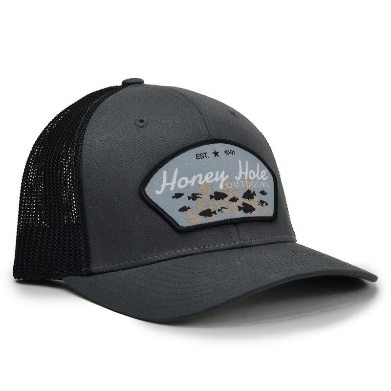 Stretch Fit - Crappie Arch - Charcoal/Black