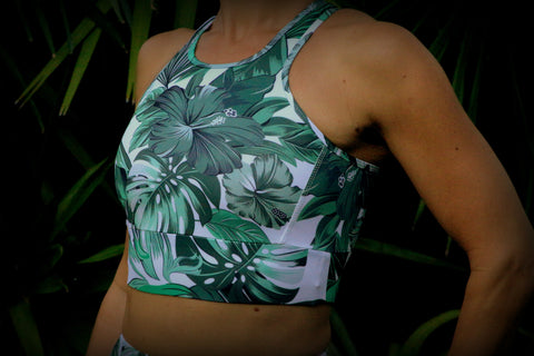 Green Leaf Fitness Sports Bra