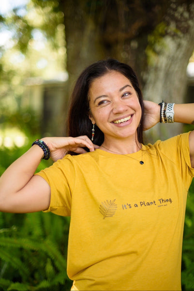 It's a Plant Thing T-shirt Mustard