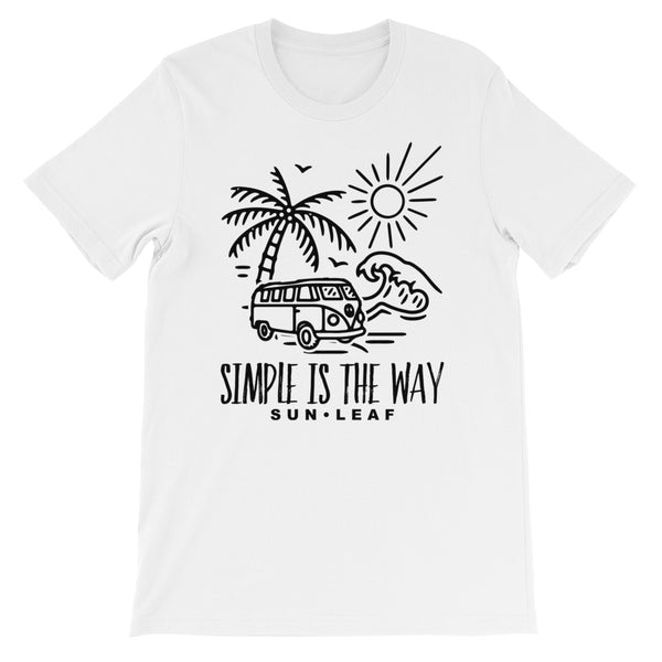 VW Bus Beach T-Shirt
