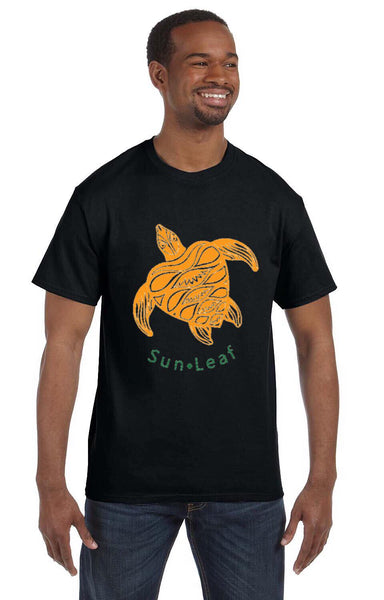Orange Sea Turtle Tee