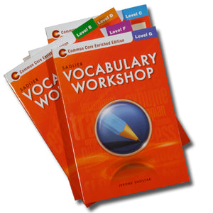 Vocabulary Workbooks