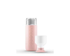 DOPPER INSULATED | 350 ML – STEAMY PINK INSULATED BOTTLE