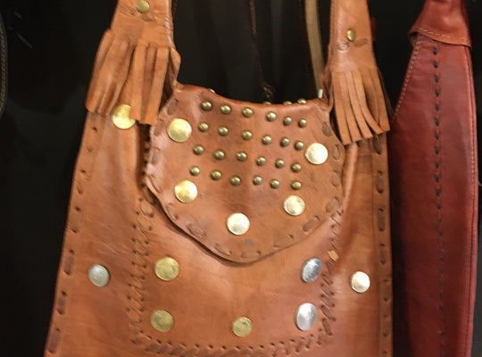 Leather Bags - Coin Purse Tan, 95 leather bags+belt, 95 Zahra - 95 - Boulder Artisan Store - Boulder, Colorado
