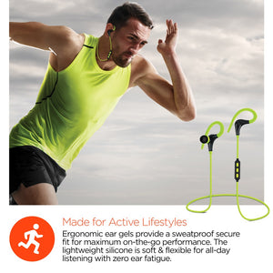 Marathon Wireless Sports Earphones Power Red