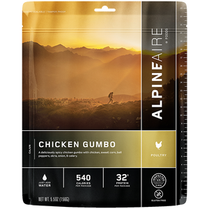 Freeze Dried Chicken Gumbo - Your Gear Club