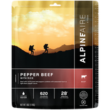 Freeze Dried Pepper Beef with Rice - Your Gear Club