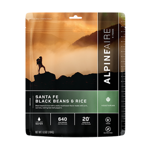 AlpineAire Freeze Dried Santa Fe Black Beans & Rice