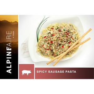 Freeze Dried Spicy Sausage Pasta (Pork) - Your Gear Club
