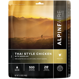 Freeze Dried Thai Style Chicken with Noodles - Your Gear Club