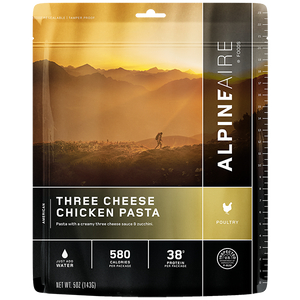 Freeze Dried Three Cheese Chicken Pasta - Your Gear Club