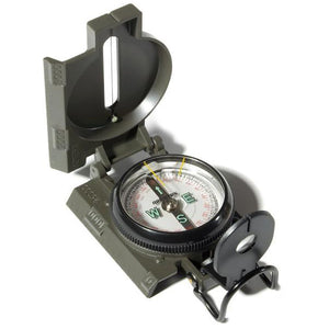 Lensatic Military Style Compass - Your Gear Club