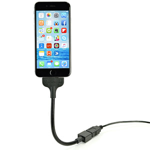 Bobine Lightning Cable Blackout Everywhere Mount - Your Gear Club