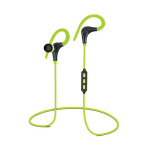 Marathon Wireless Sports Earphones Energy Green