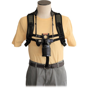 Backcountry Solutions KEYHOLE Hands-Free Camera Harness, Black