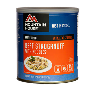 Mountain House #10 Can Beef Stroganoff