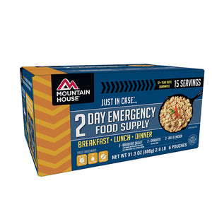 Mountain House Emergency Food Supply, 2-Day