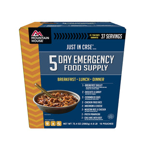 Mountain House Emergency Food Supply, 5-Day
